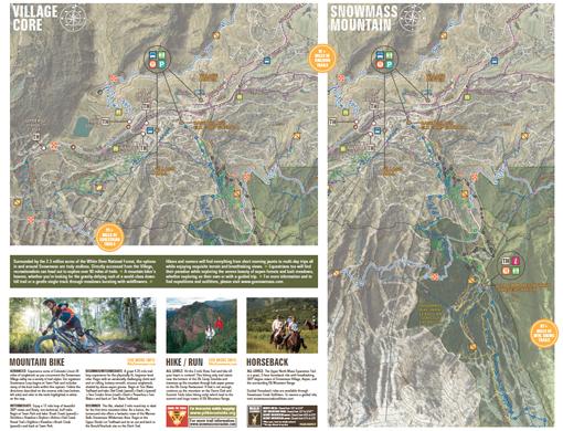 Snowmass Village Trail Map