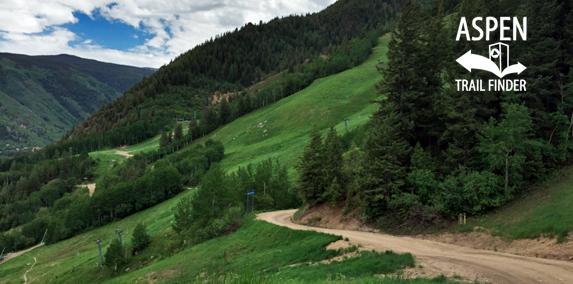 Aspen Mountain Summer Road