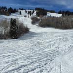 Tiehack Uphill Route