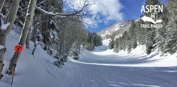 Aspen Mountain Uphill Route