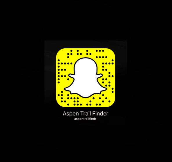 Snapchat aspentrailfindr