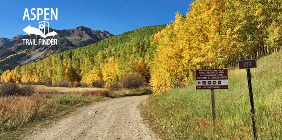 Montezuma Basin Road 102 In Ashcroft Aspen Trail Finder
