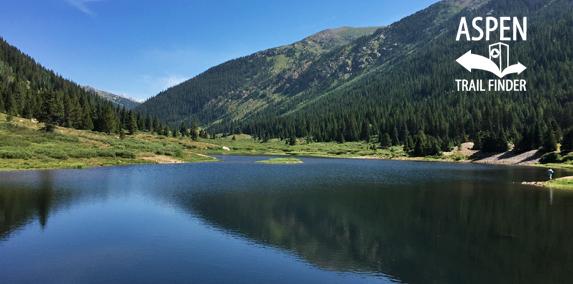 Lost Man Reservoir, Independence Pass - Aspen Trail Finder