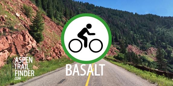 road biking options in basalt