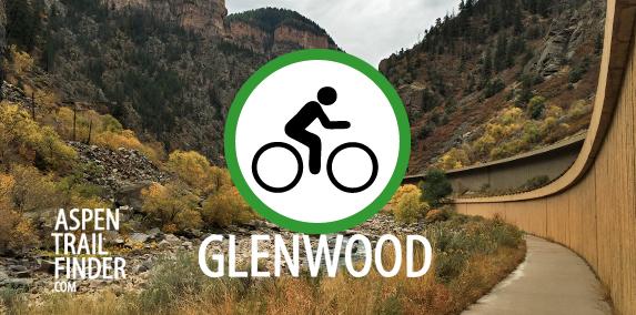 road biking options in glenwood