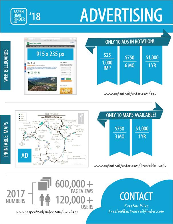 Aspen Trail Finder Advertising